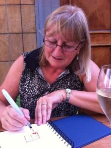 Sketching at Angelika Kauffmann Cafe