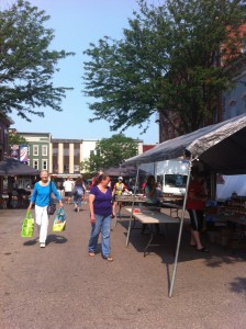 Sunday market in Brockport