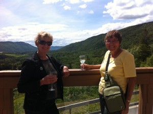 Drinks at the Humber Valley Resort