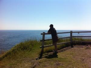 David loves the ocean