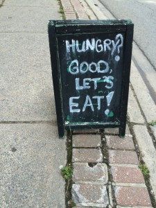 Always good food on a Cyclopath tour.....