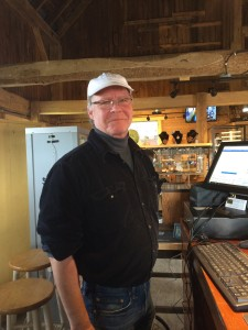 Owner....Gary!  Great shop in a fantastic barn.