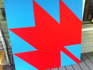 My true Canadian barn quilt.