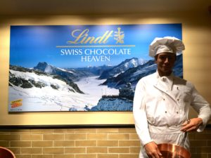 There really is a chocolate heaven....in Switzerland.